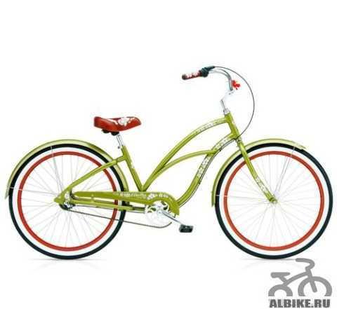Велосипед круизер электра hawaii