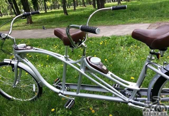 Велосипед круизер schwinn tango tandem