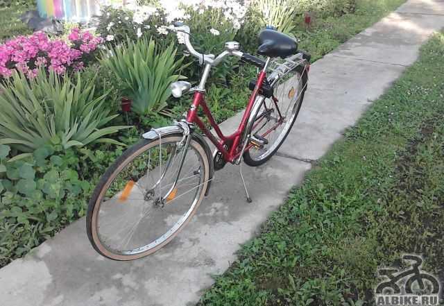 Фирменный велосипед из германии