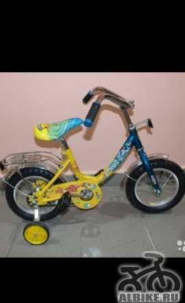 """Детский велосипед новый """"Ну погоди"""" 3-5 лет"""