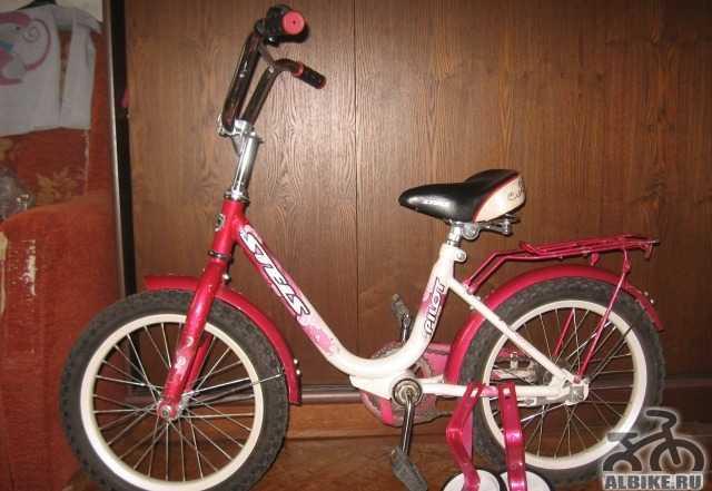Велосипед детский стелс 16