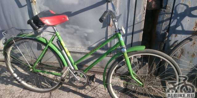 Ретро велосипед орленок