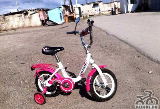 орион детский велосипед