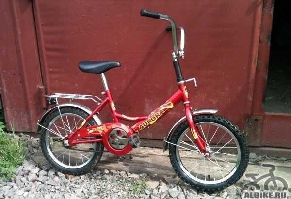 Велосипед детский аврора от 2 до 4 лет