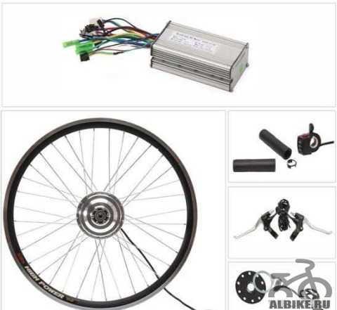 Мотор колесо 350вт для электровелосипеда