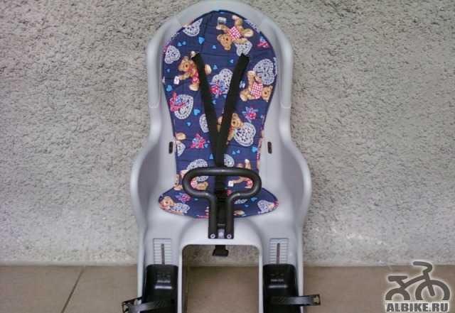 Велокресло детское Cyclotech на багажник до 25 кг