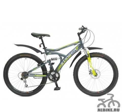 "Велосипед Стингер 26"" Матрикс SX220D"