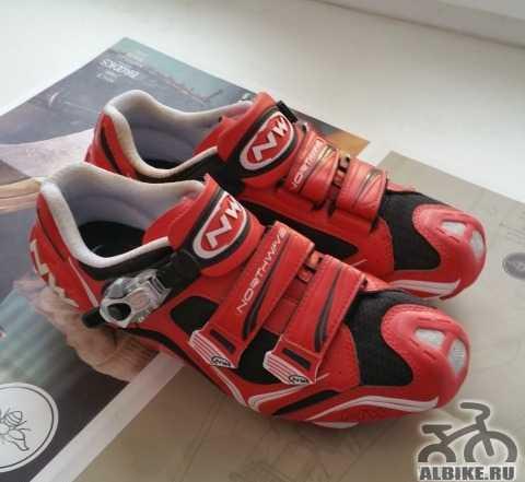Контактные туфли northwave striker sbs, размер 42