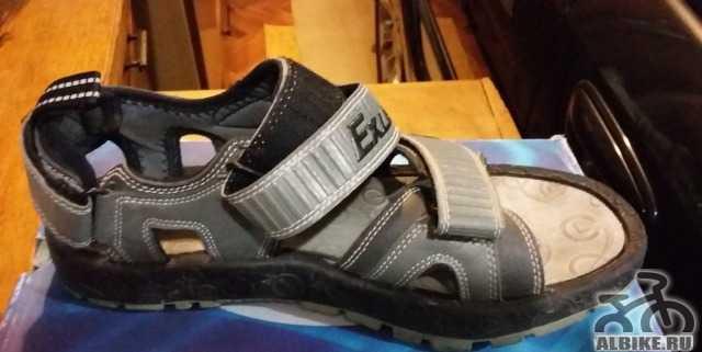 Вело сандалии для контактных педалей