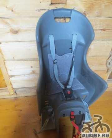 Детское кресло на багажник polisport cycle