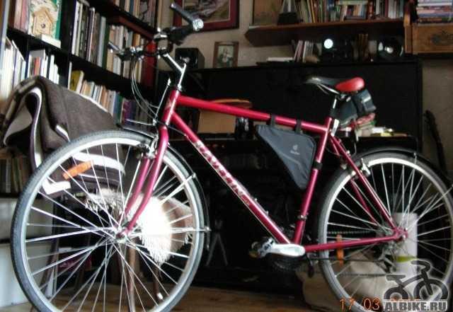 Городской скоростной велосипед для высокого парня