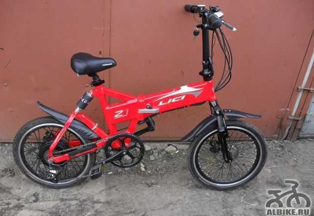 Электровелосипед б/у складной