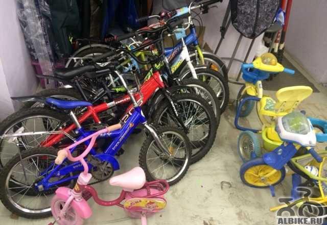 4 детских велосипеда