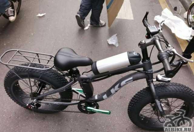Электровелосипед Fat байк полный привод