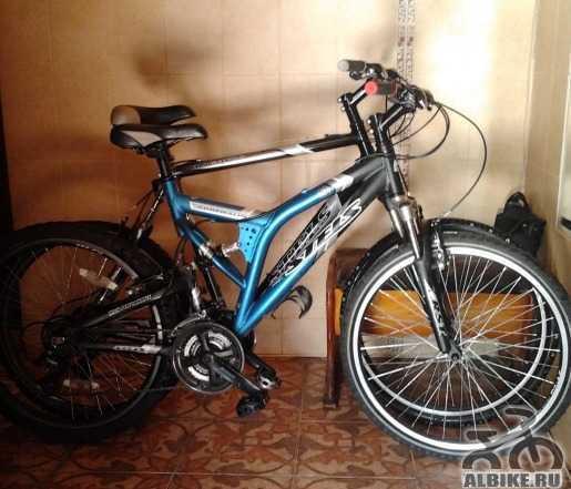 2 горных алюминиевых велосипеда