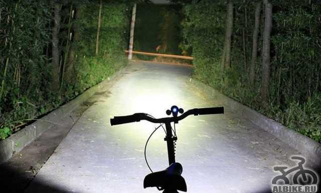 Очень яркий велосвет 2 в 1