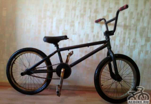 BMX K2b с пегами