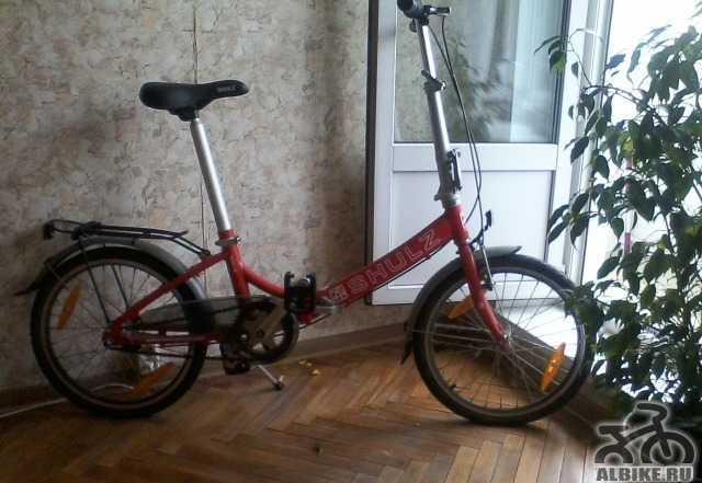 Новый складной велосипед Shulz goa 3