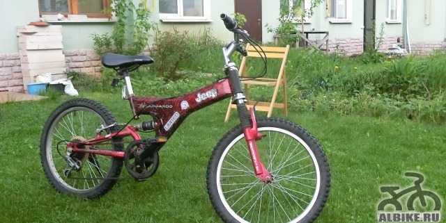 Подростковый велосипед от компании Джип