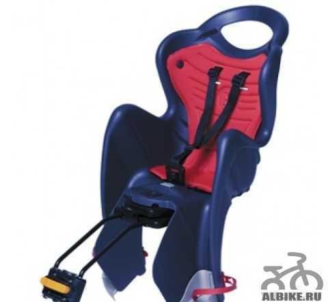 Детское велосипедное кресло регулируемое