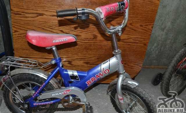 """Детский велосипед """"bravo"""" (ул. Орликовой)"""