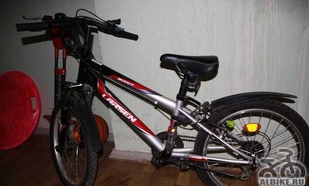 Двухколесный велосипед. larsen