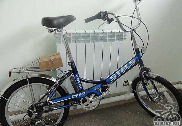 Складной велосипед Стелс 450 пилот