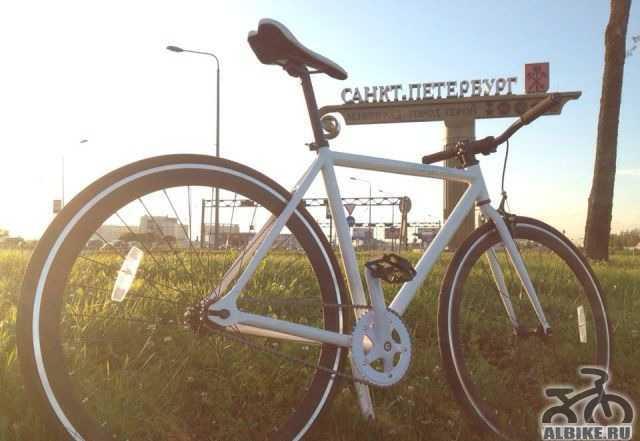 Fixed гир Fixie байк фикс велосипед новый