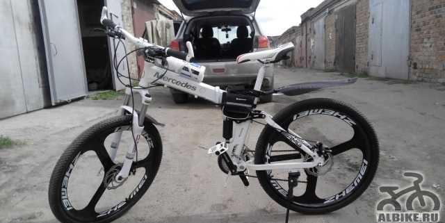 Новый Брендовый велосипед Мерседес E-class в Омске
