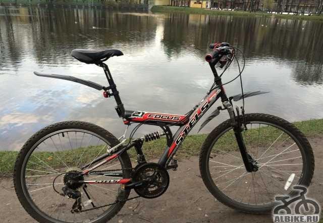 Велосипед Стелс Фокус 21 скорость