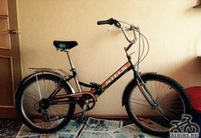 """Велосипед со складной рамой стелс пилот 750 24"""""""