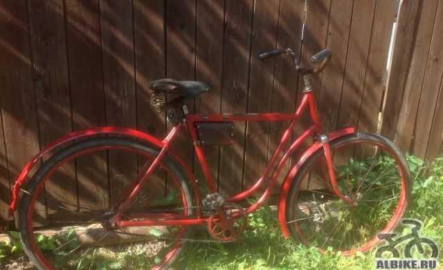 Велосипед немецкий старинный дамский