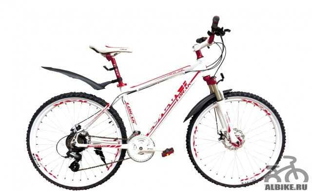 Велосипед lorak 3.0 белый/красный