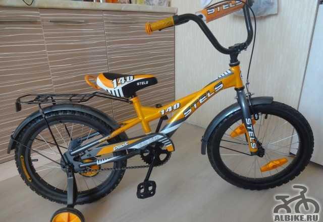 Детский велосипед стелс Пилот 140 18