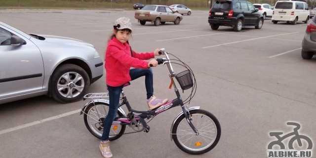 """Детский велосипед Novatrak 20"""" складной"""