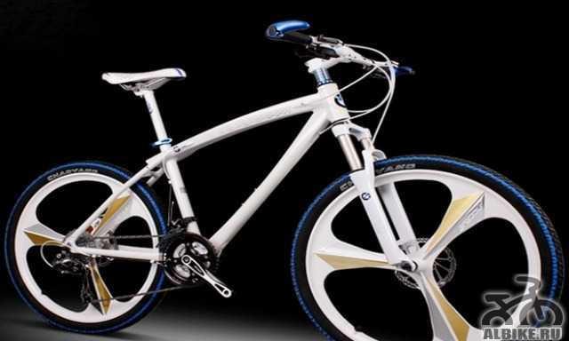 Велосипед БМВ X1 литые диски