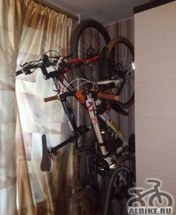 Крепление для хранения велосипеда Байк Hand YC-101