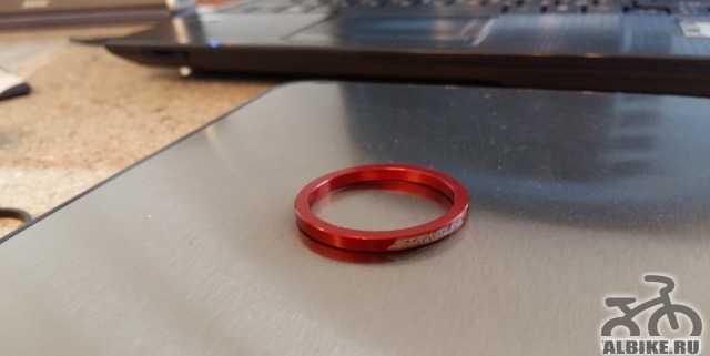 Проставочные кольца 3мм StretLine red, 20мм блак