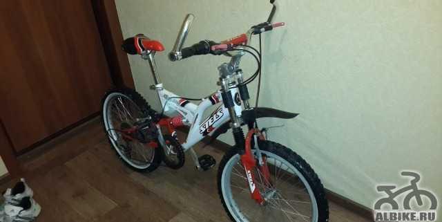 Продается подростковый велосипед стелс