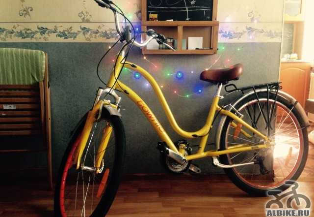 Велосипед электра Townie 21D женский