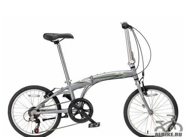 """Велосипед Ubike рапидо 7-спит 20"""" новый складной"""