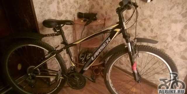 Велосипед Larsen, алюминивый корпус