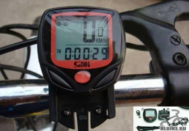 Электронный спидометр для велосипеда - Велокомпьют