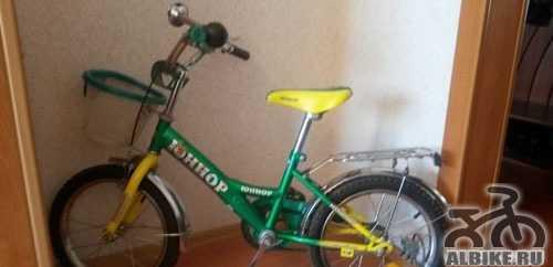 Детский велосипед юниор