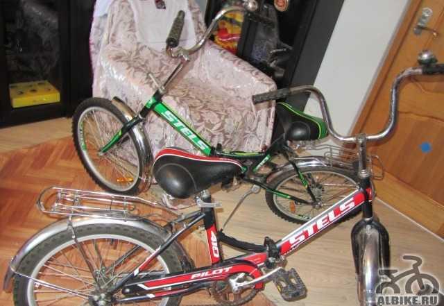 Велосипед стелс 410 пилот