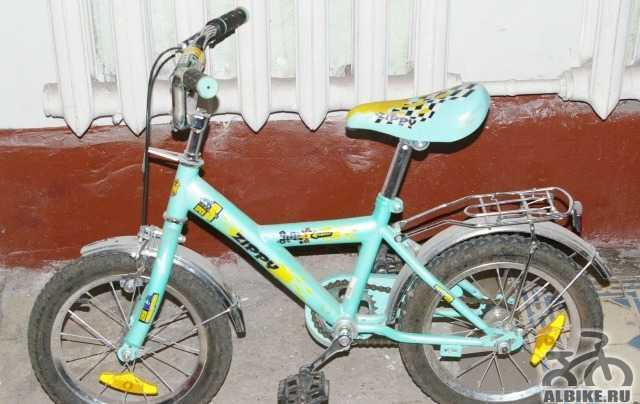 Детский велосипед б/у в хорошем состоянии
