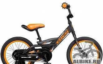 Новый велосипед детский для мальчиков Трек Jet 16