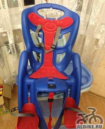 Велосипедное детское кресло Bellelli на багажник
