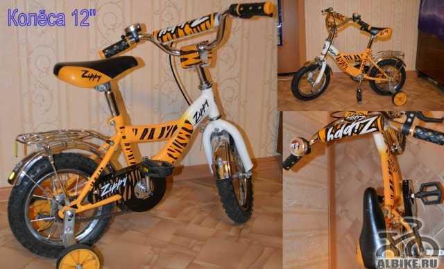 Детский 2-х колёсный велосипед