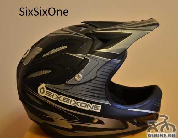 Шлем SixSixOne фулфейс (fullface, dirt, downhil)